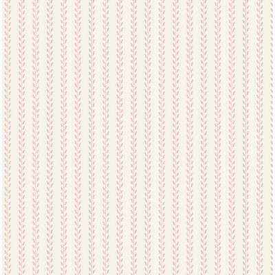 Leaf garland pink